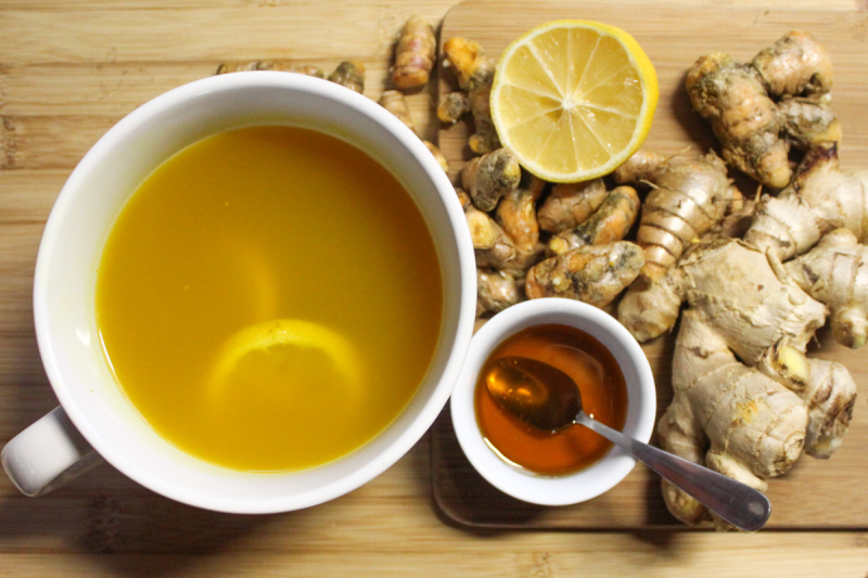Turmeric Ginger Tea Recipe