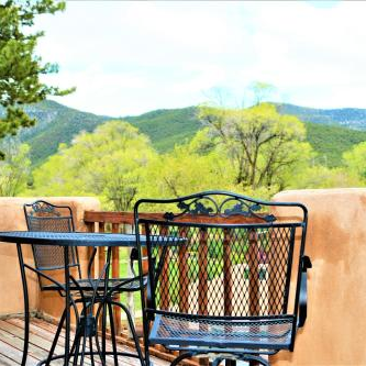 Taos Yoga Retreat - View