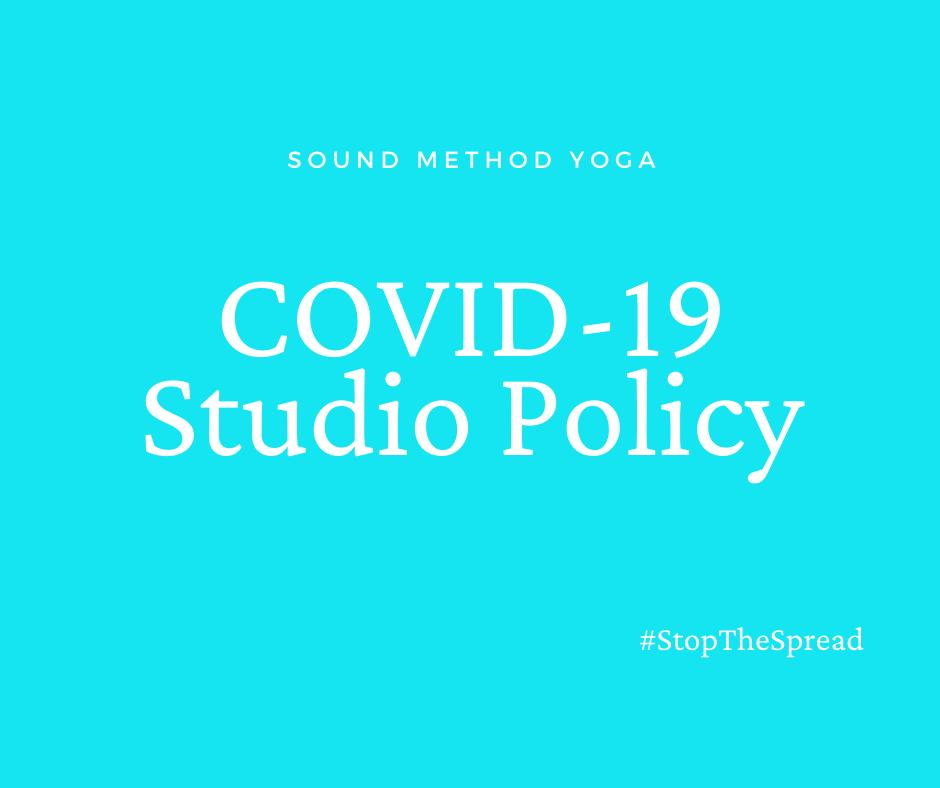 Covid-19 Studio Policy